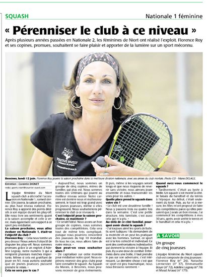 Article Niort