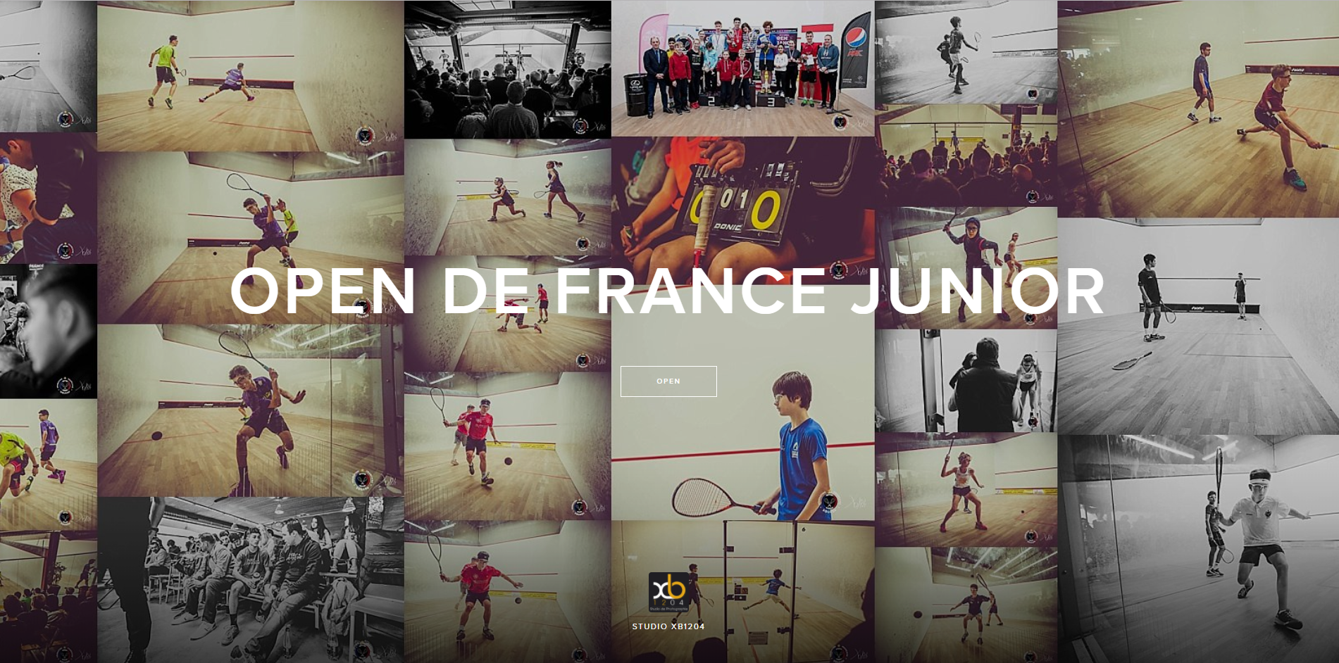 OPEN DE FRANCE JUNIOR
