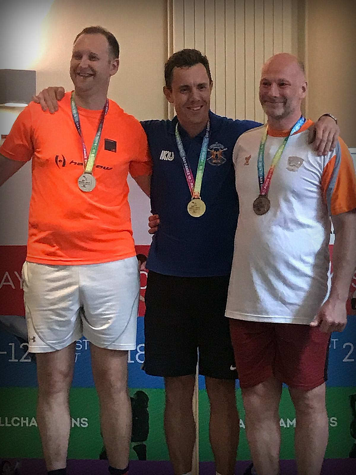 Gay Games podium hommes Level B