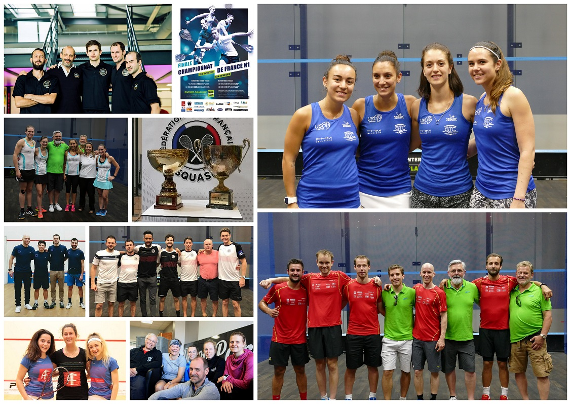 CHAMPIONNAT DE FRANCE INTERCLUBS : PRÉSENTATION DES PLAY-OFFS DE NATIONALE 1