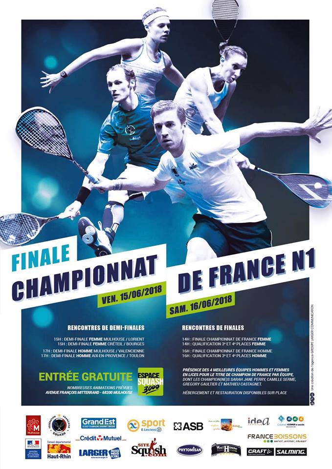 CHAMPIONNAT DE FRANCE INTERCLUBS : PLAY-OFFS N1, DEMI-FINALES EN DIRECT