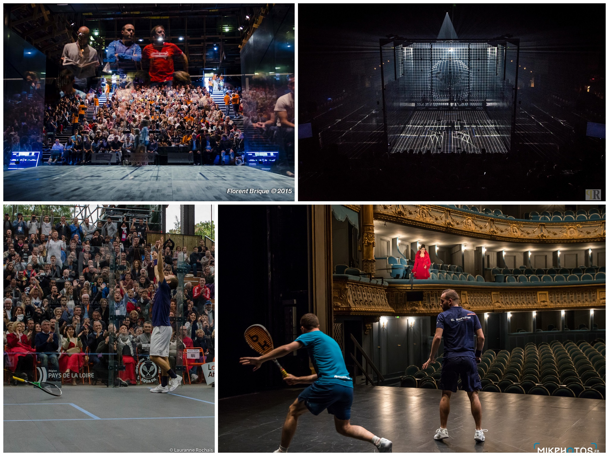 OPEN INTERNATIONAL DE NANTES : LES TÉNORS DU SQUASH S'INVITENT À L'OPÉRA !