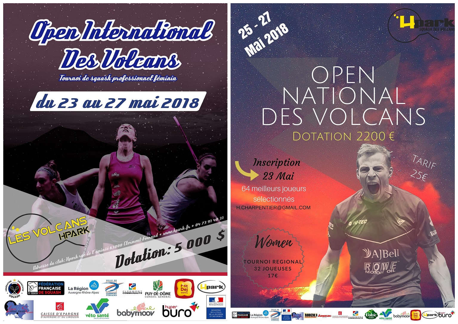 Affiches Volcans 2018