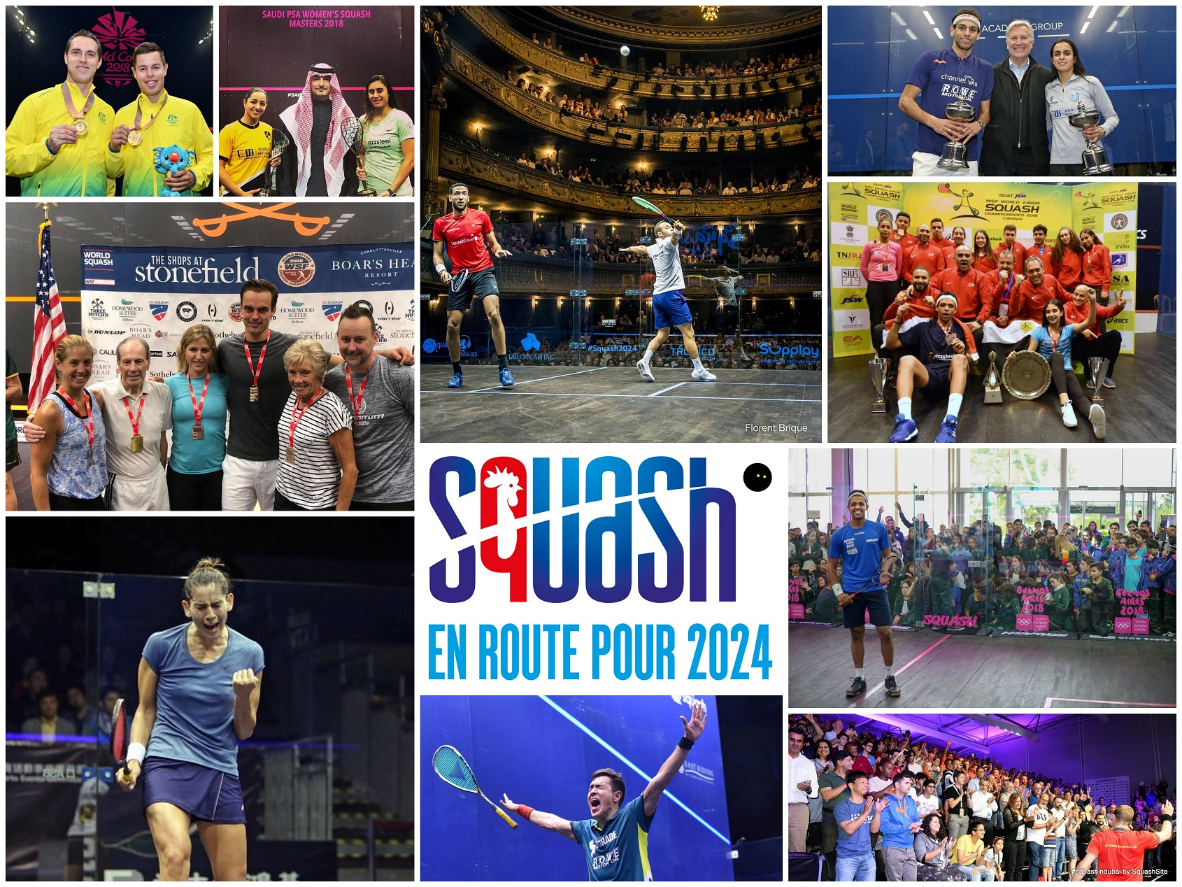 ROAD TO 2024: 2018, A YEAR OF SQUASH