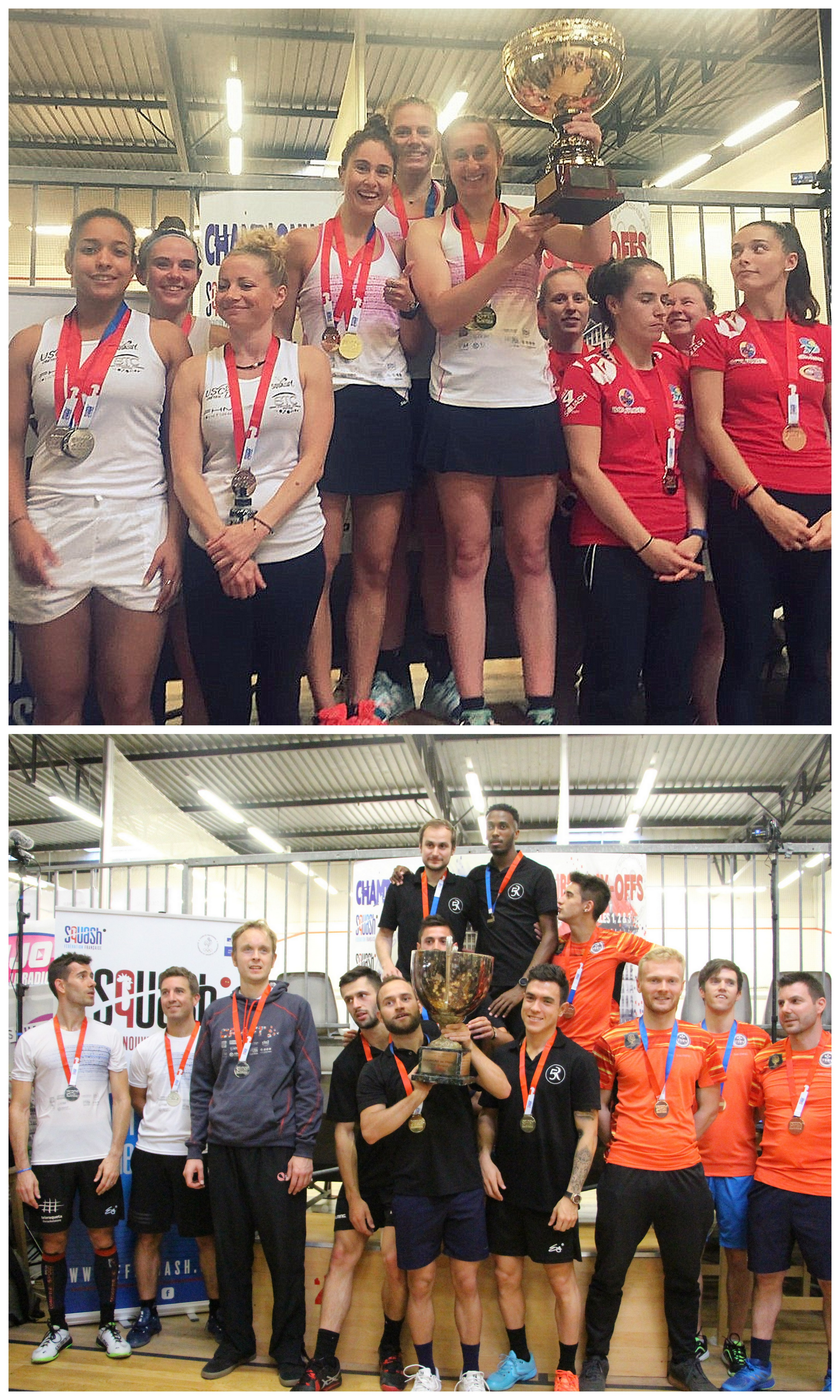 INTERCLUBS : MULHOUSE ET MONTPELLIER CHAMPIONS DE FRANCE !