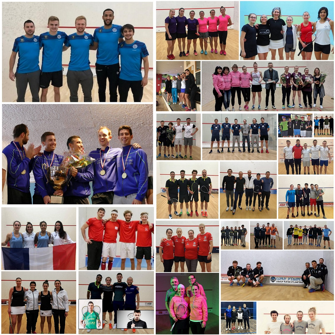 PLAY-OFFS DES INTERCLUBS : BORDEAUX FÊTE LE SQUASH