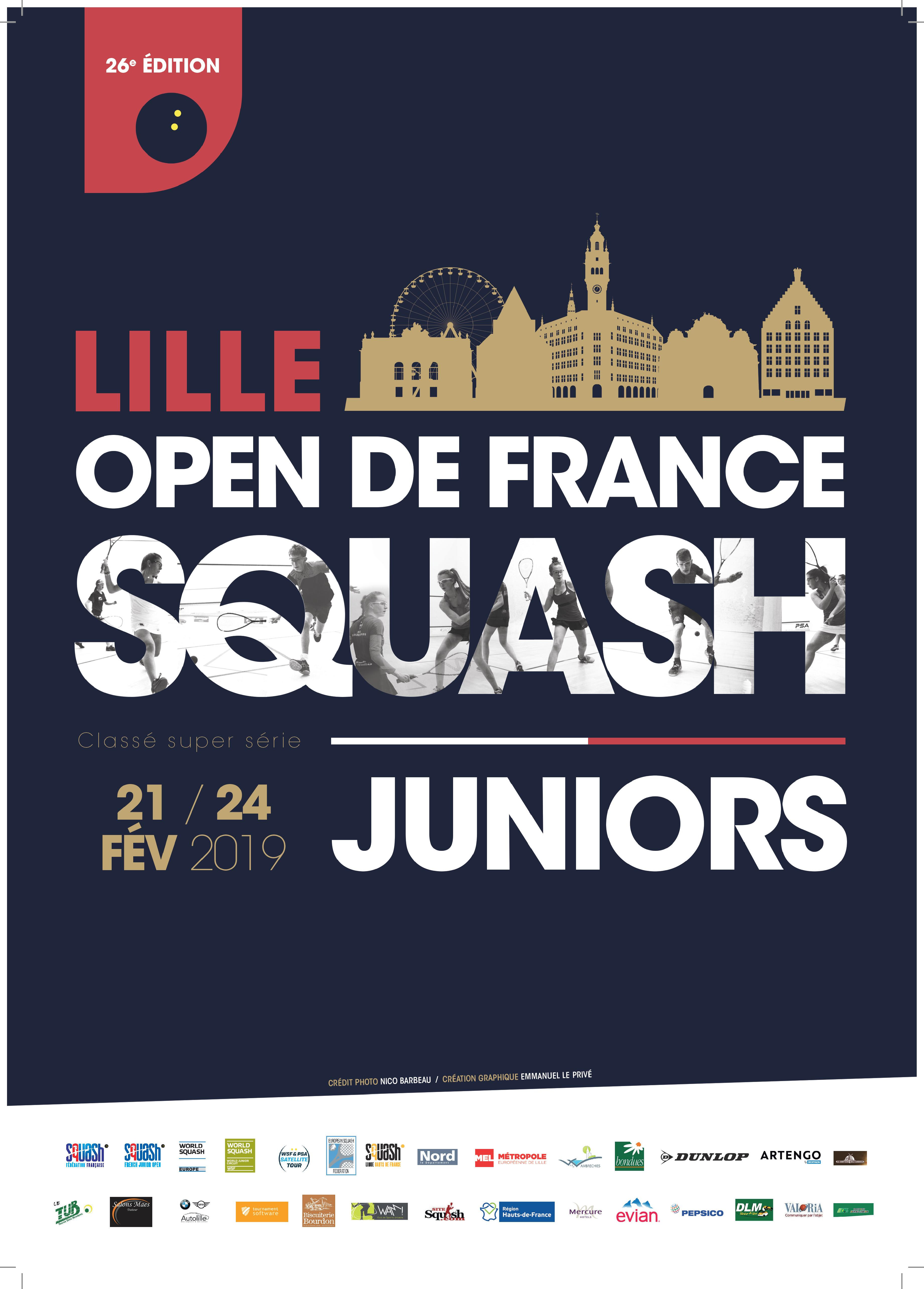 OPEN DE FRANCE JUNIOR 2019 : LES MATCHES EN DIRECT