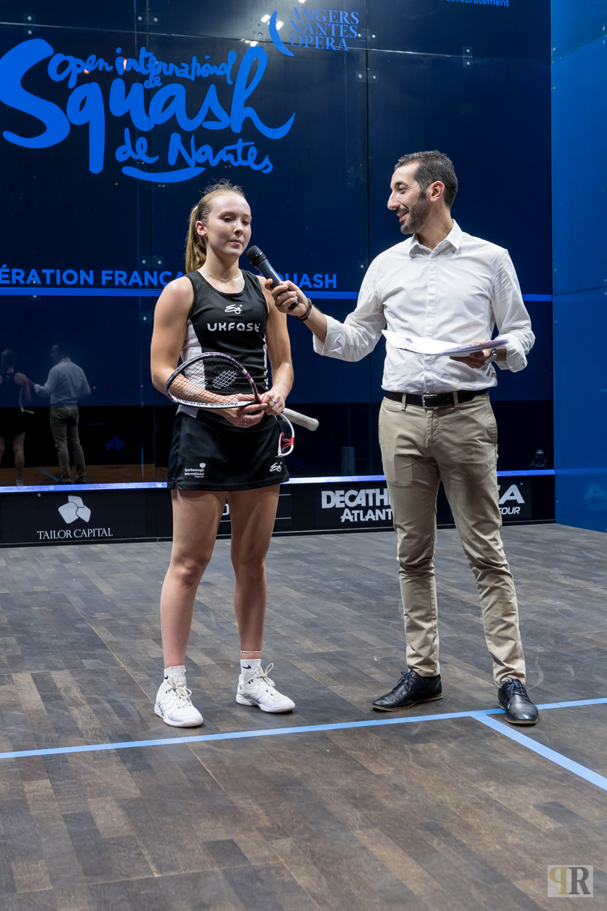4ème OPEN INTERNATIONAL DE NANTES, JOUR 3 : RÉACTIONS