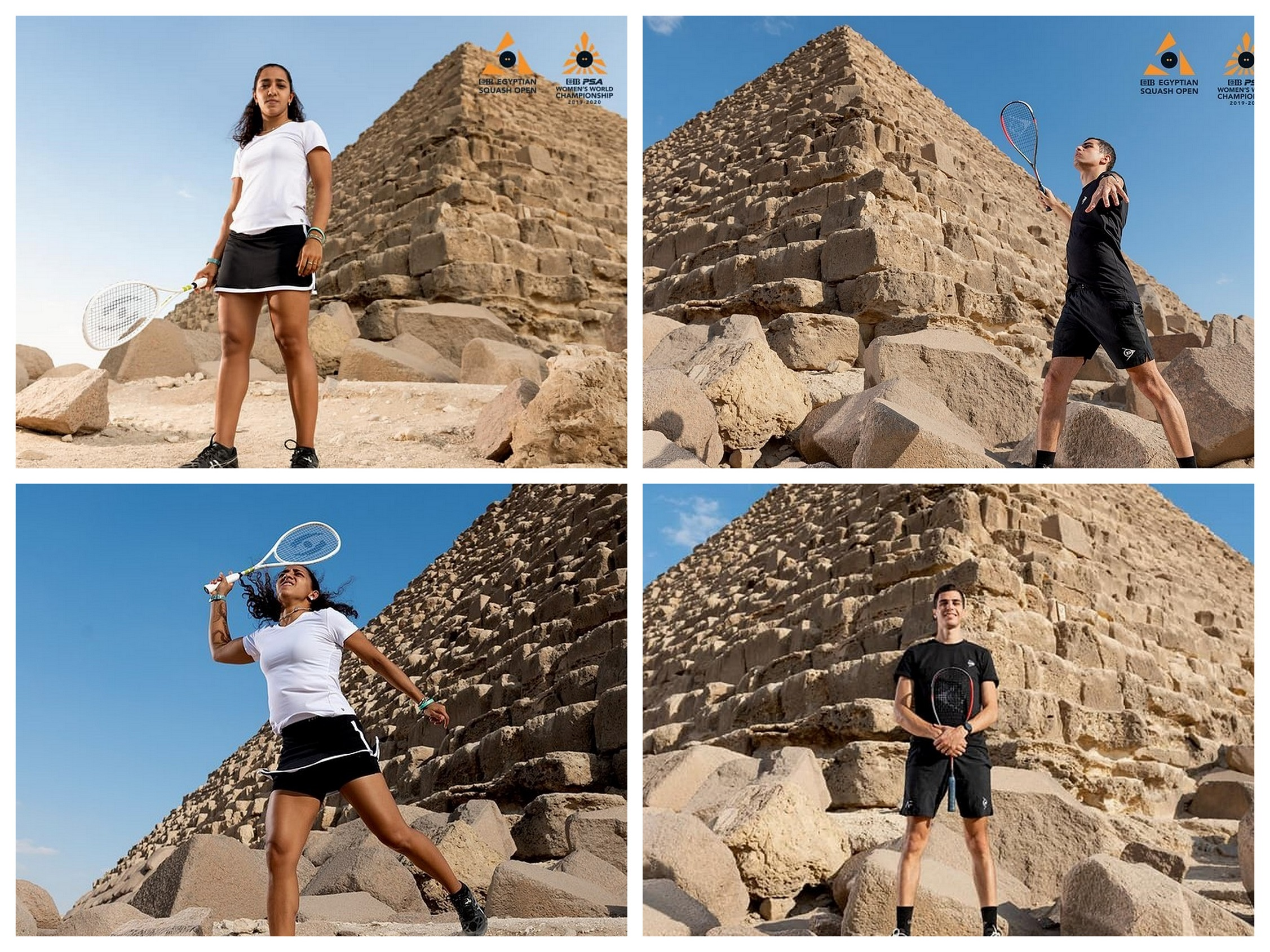 SQUASH OUTSIDE THE BOX: THE MYSTERIES OF THE PYRAMIDS ...